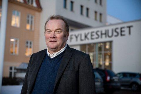 OPPLØSER: Bjørn Inge Mo mener at storfylket Troms og Finnmark snart skal løses opp igjen.