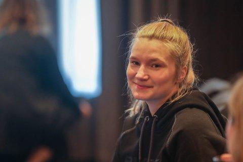 MÅTTE SI FRA: Susanne Mortensen (24) fra Tromsø har vært snart fem år i bransjen. Nå klarte hun ikke lengre å tie om hvordan det er å være kvinnelig fisker.