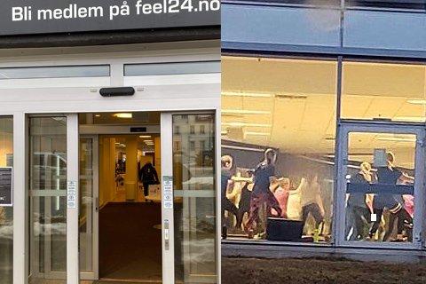 HOLDER ÅPENT: Selv om personer har testet positivt for korona så holder likevel Feel24 og Sats Langnes åpent.