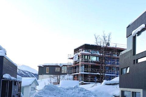 OMSTRIDT: Huset i Hagavegen 39E er omsider i ferd med å reise seg etter en fire år lang prosess.