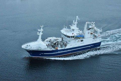 ULYKKE: Det var en person om bord på fiskefartøyet «Hovden Viking» som mistet livet tirsdag morgen på havet utenfor Senja.