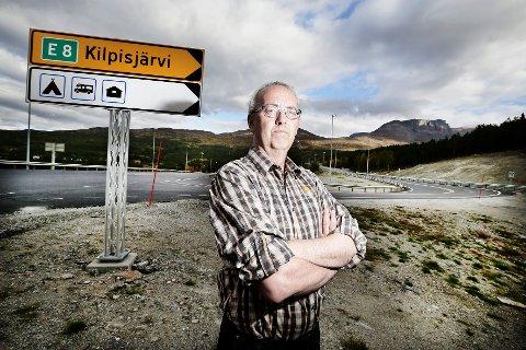 FORTVILER: Geir Varvik føler at kommune har blitt utelatt fra prosessen rundt Treriksgrensen som nasjonalpark.