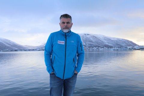 ROVOSERT: Reiselivstopp Magne Moen mener prosjektet til Tromsø sentrum har feil fokus, og at Visit Tromsø kunne brukt pengene bedre.