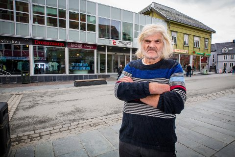 STERK PERSONLIGHET: Odd-Erik Hagen-Olsen bygde opp og drev Torgcentret i Tromsø sentrum i mange år.