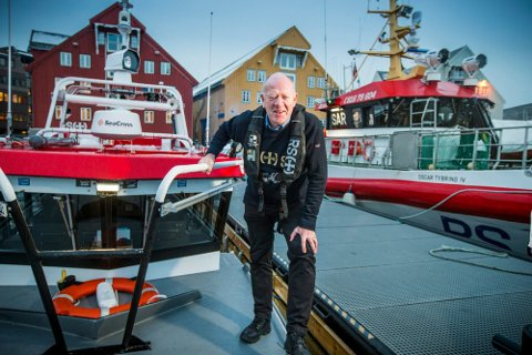 Arild Braathen (68) ble pensjonist fredag, etter å ha jobbet 24 år i redningsselskapet.