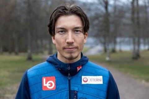OPPGITT: Johann Andre Forfang har slitt med motivasjonen. Foto: Simen Lønning, Nettavisen