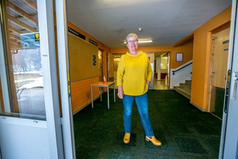 Rektor Torill Hvalryg på Tromsdalen videregående skole. Foto: Trogrim Rath Olsen