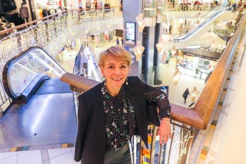 GLAD: Senterleder hos Nerstranda, Veronica Evertsen, er svært tilfreds med å få på plass en ny leietaker.