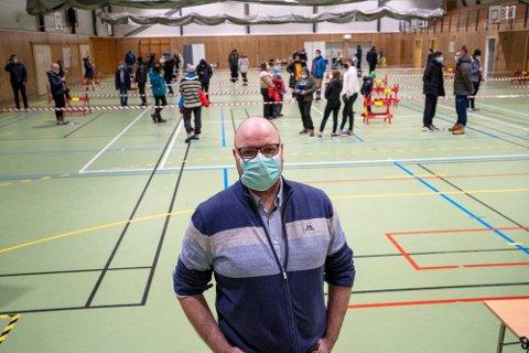 NYTT UTBRUDD: Øivind Benjaminsen er bekymret for et smittetilfelle blant russen.