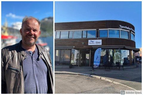 VEKTS: Karl Johan Brekmo og Nordic Spas har de siste årene hatt en eventyrlig suksess.