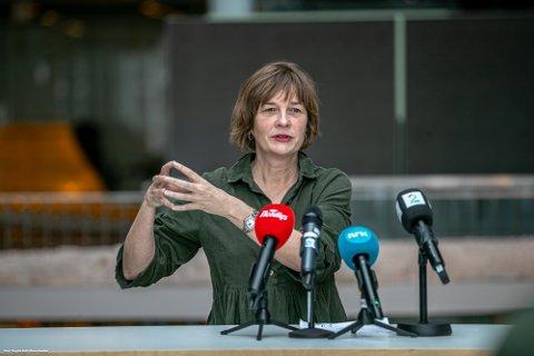 INGEN TILTAK: Så lenge smittesporingen klarer å henge med i utbruddet, er det ikke aktuelt med tiltak, sier kommuneoverlege Inger Hilde Trandem.