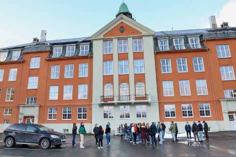 HØYT SNITT: På Kongsbakken blir det vanskeligere å få seg studieplass.