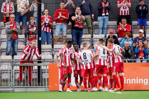 SEIER: Gutan slo Mjøndalen 3-2 på bortebane.