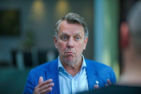 IKKE BEKYMRET: Ordfører i Tromsø, Gunnar Wilhelmsen, er ikke bekymret for smittetallene i Tromsø. Han sier også at det senere i dag vil komme en dato for gjenåpningen av Norge fra regjeringen.