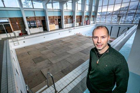 KLAR: Andreas Willumsen er styreleder i Tromsøbadet og vil overta Alfheim svømmehall
