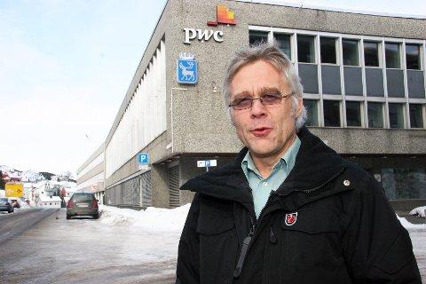 Roar Stangnes, enhetsleder på Boligkontoret i Tromsø kommune.