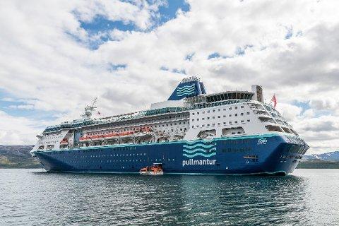 INGEN BESØK I 2016: Cruiseskipet Empress vil ikke ankomme Lakselv kommende sommer. (Foto: Stian Eliassen)