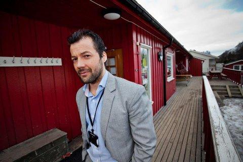 MOT FORKJØPSRETT: Daglig leder i DNB Eiendom i Tromsø, Tomi C. Johansen, er i mot forkjøpsrett på borettslagsleiligheter. - Det bør være en fri konkurranse om boliger, mener han.