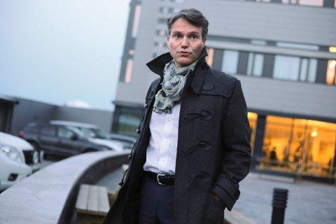Administrerende direktør Eirik Frantzen i Nordkraft. Foto: Fritz Hansen / Fremover