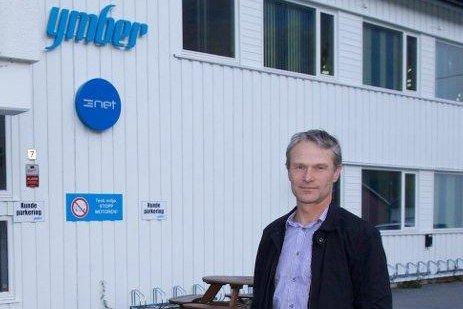 FÅR KJEFT: Erling Martinsen, administrerende direktør i kraftselskapet Ymber. Foto: Øystein Solvang