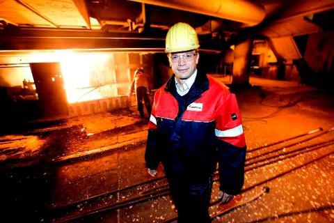 KOSTBART: Om Finnfjord AS må stenge ned produksjonen, vil det koste titalls millioner momentant, forteller daglig leder, Geir Henning Wintervoll.