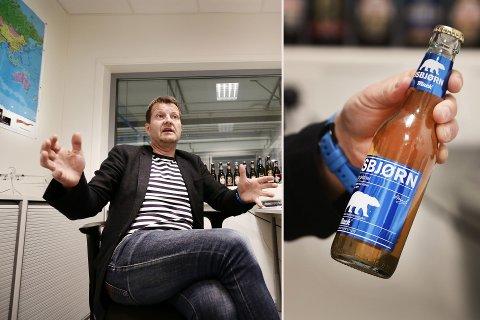 FORTVILET: Macks toppsjef Harald Bredrup på kontoret i Nordkjosbotn. Han fortviler nå over Rema 1000, som vil kaste MAck ut av butikkhyllene i 2017.