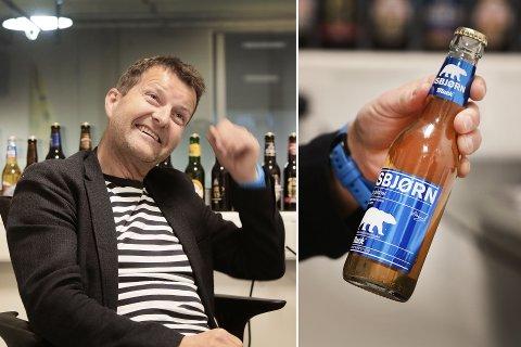 Macks toppsjef Harald Bredrup på kontoret i fabrikken i Nordkjosbotn. FOTO: TORGRIM RATH OLSEN .