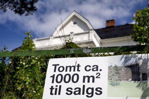 Mange selgere av boliger i Tromsø har fått økt verdi av tomtene på grunn av fortettingspolitikk. Det kan gi ekstra skatt.