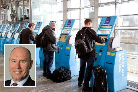 SOSIAL STATUS: Professor Tor W. Andreassen ved Norges Handelshøyskole (innfelt) i Bergen mener bonuskortene også har en psykologisk effekt.