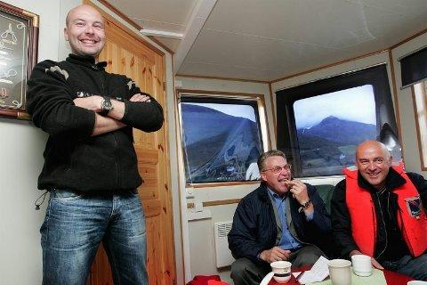 Kurt-Einar Karlsen (til venstre) blir ny sjef i Lerøy Aurora.