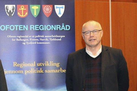 Per Arnold Dyrkoren (leder Connect Nord-Norge), her i forbindelse med etableringen av investornettverk i Ofoten.