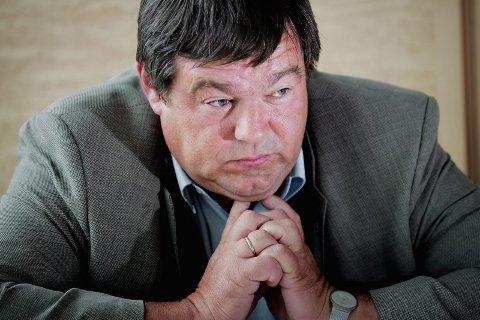GÅR AV: Stein Rudaa går av fra nyttår.