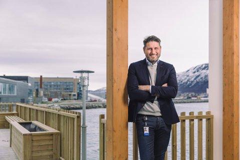Konserndirektør for salg og kunderelasjoner i Sparebanken Nord-Norge, Ronni Møller-Pettersen.