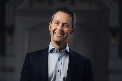 ETISK VURDERT: Sparebanken Nord-Norge gjør byks på Etisk bankgguide Norge sin liste i år. Stein Vidar Loftås, kommunikasjonssjef i Sparebanken er fornøyd.