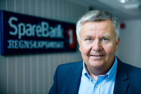 STØRRE: Administrerende direktør Tom Robert Aasnes i Sparebank 1 Regnskapshuset Nord-Norge sier de vil vokse - også gjennom oppkjøp