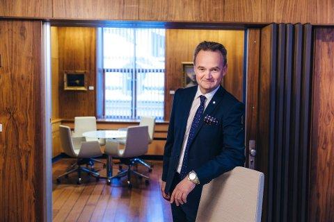 ØNSKE: -Om jeg skulle ha ønsket meg noe så var det flere nordnorske private eiere av egenkapitalbevis. Og at det hadde vært flere nordlendinger med på denne eventyrlige veksten som Sparebanken Nord-Norge har hatt, sierJan Frode Janson.