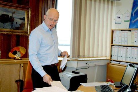 KONSERNSJEF: Brynjar Forbergskog i Torghatten ASA leverer tidenes resultat, og en omsetning på over 10 milliarder.