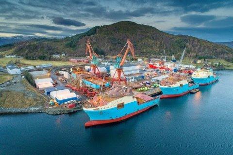 Kleven i Ulsteinvik, som ligger like ved leia der Hurtigrutens skip har seilt året rundt i snart 125 år.