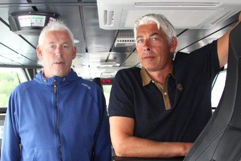 SELGER: Brødrene Johannessen selger livsverket - Sjøtransport Rotsund.