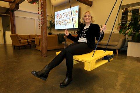 HUSKESTUE: Trude Slettli i Betr AS har et mål om å lage huskestue i markedet med et nytt produkt utviklet i Tromsø.