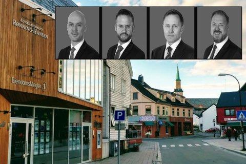 I SENTRUM: Advokatfirmaet holder til i Tromsø sentrum. Dette er eierne.