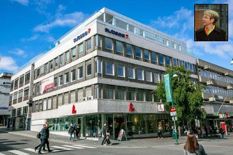 MÅNEDENS HØYESTE: Kari Aagards (innfelt) salg av eiendom i Storgata innbringer 85 millioner kroner.