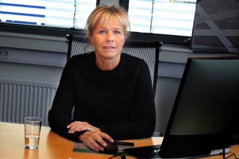 OFFENSIV: Nina Hansen er positiv til fremtidsutsiktene og tror at bedriften vil ta igjen det tapte.