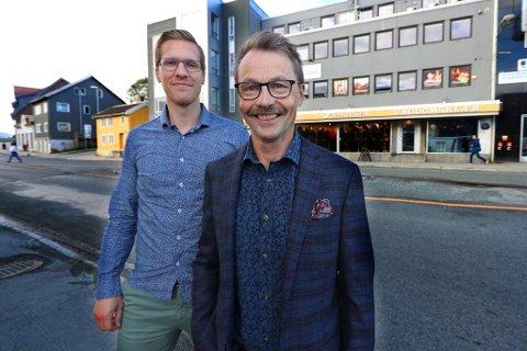 GODT 2019: Tommy Olsen, Lars Andreassen-Eriksen og Sten Magne Andreassen tok over Brødrene Johannessen i begynnelsen av 2019. Sistnevnte var ikke tilstede da bildet ble tatt.