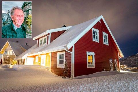 KJØPER SØNNENS HUS: Odd-Erik Hansen har kjøpt dette huset i Alfheimvegen for ni millioner kroner.