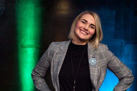 HELT SJEF: Etter fire måneder konstitueres hun i direktørstolen. Ida Kristin Romsøe, kommer opprinnelig fra Stavanger og har jobbet som hotellsjef ved Clarion Hotel Energy der. Men i høst flyttet hun tilbake til Tromsø – byen hun tidligere også har studert i.