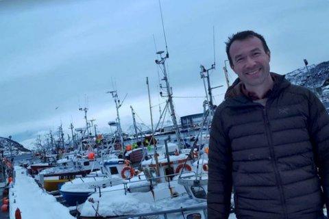 FÅR PENGER: Ørjan Albrigtsen, ordfører i Skjervøy.