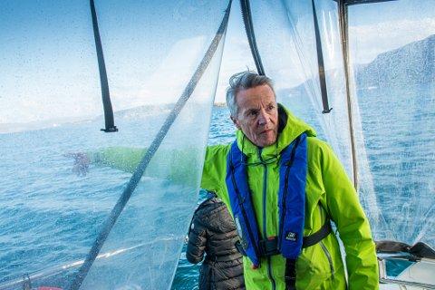 KAPTEIN: Eventyrlysten livsnyter og tidligere IT-mann, nå reiselivsgründer - Kurt Arild Larsen.