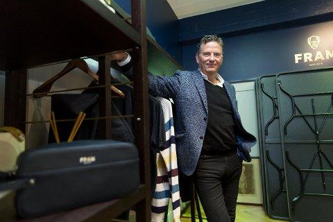 SKAL FLYTTE: Ørnulf Høyer eier Høyer Gruppen. Han sier de leter etter nye lokaler i Tromsø - men det vil trolig bli et opphold i driften.