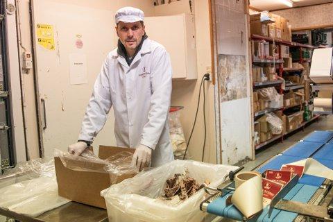 GODT RESULTAT: Daglig leder Kim Pettersen i kjøttprodusenten Solberg Pettersen AS i Tromsø er fornøyd med 2020-resultatet, tross store koronaprøvelser.